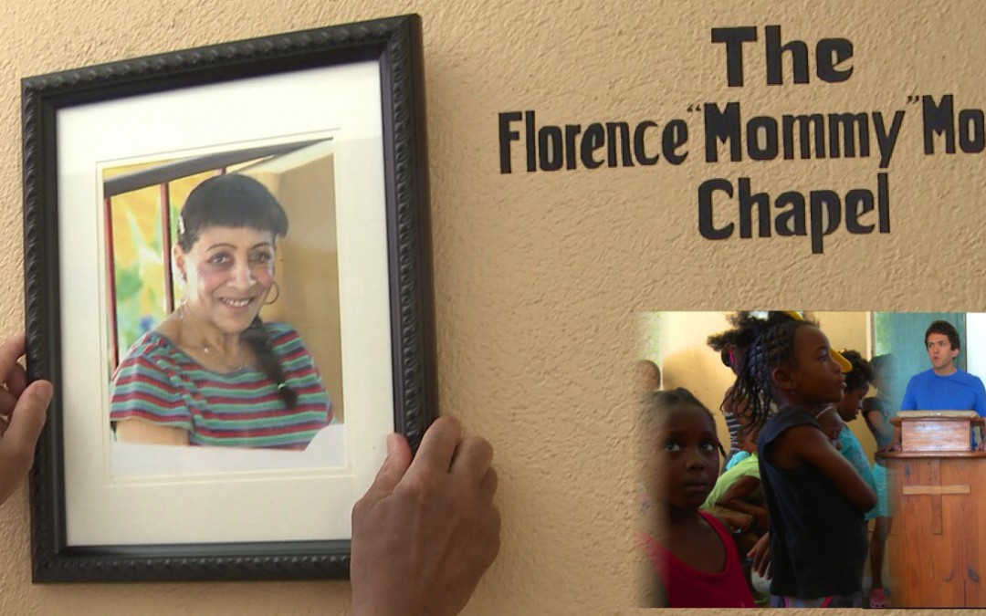 "Mission Chapel Dedicated to ""Mommy"" Moffett"