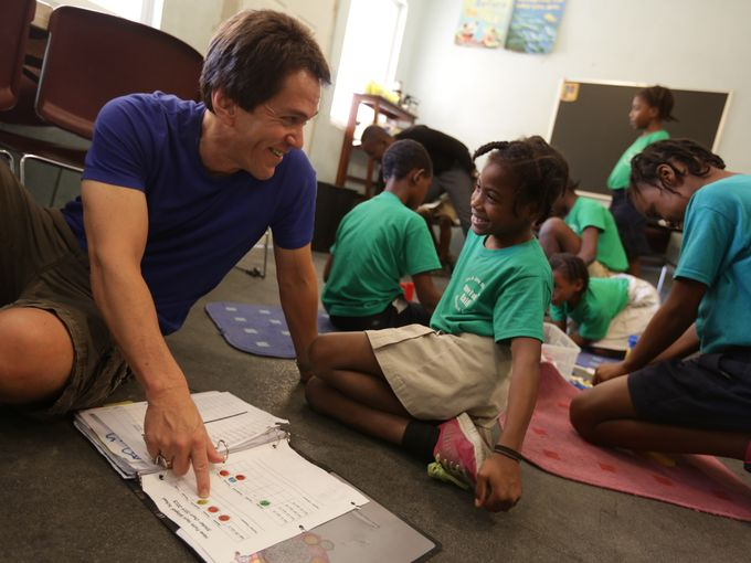 Mitch Albom on Haiti: Smiles Make it Worthwhile