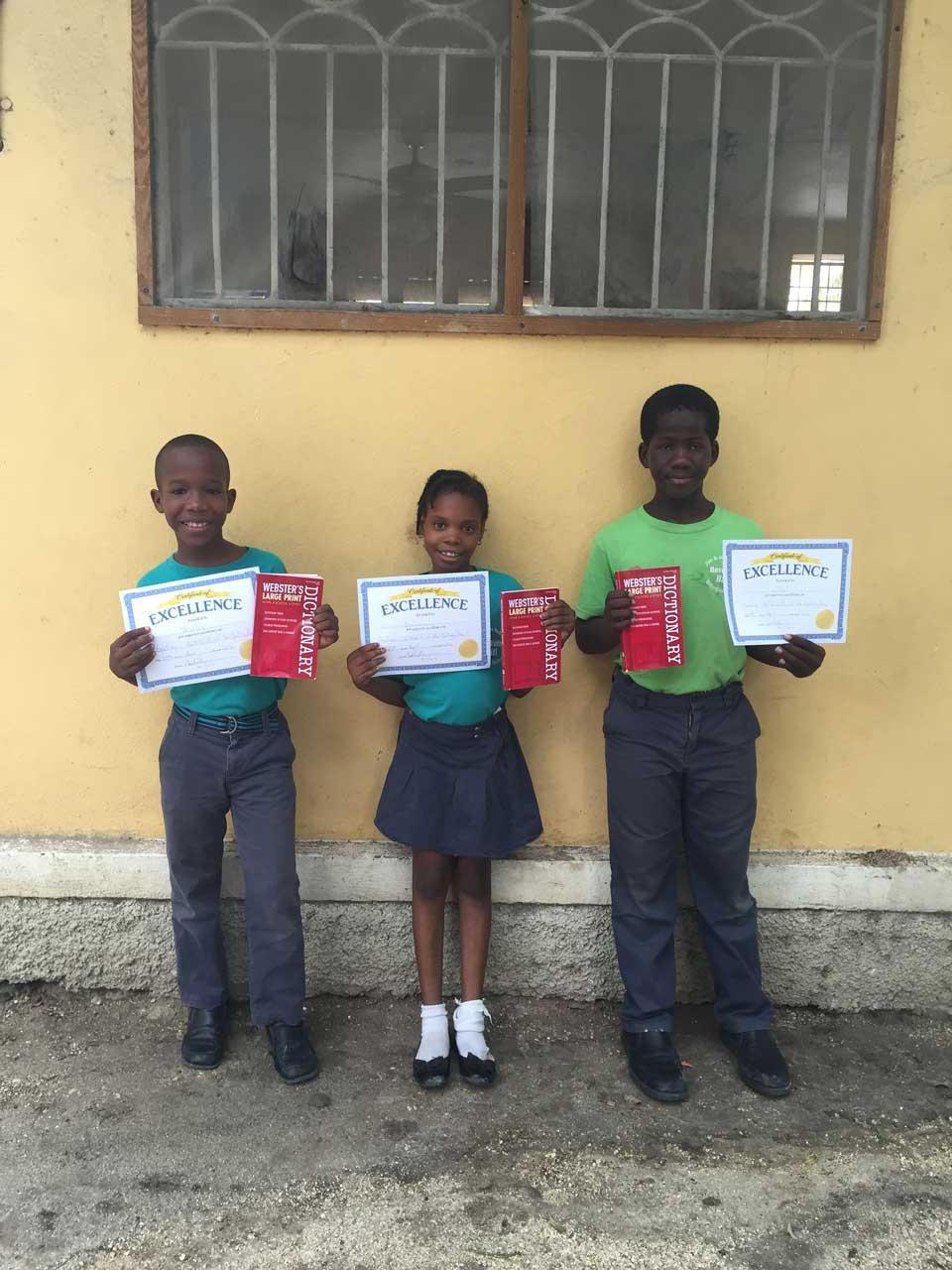 Have Faith Haiti Spelling Bee April 2016 -1