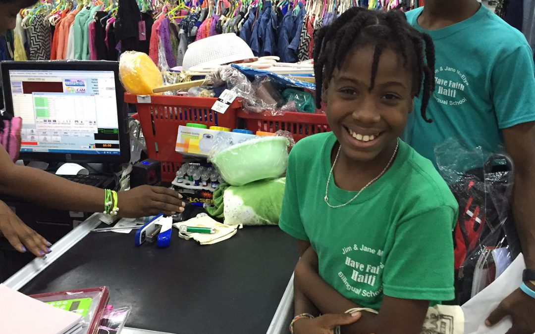 Back-to-School Shopping at Have Faith Haiti