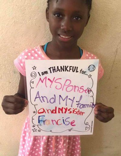 francise-thankful