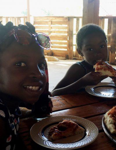 pizza students of the week Mirlande - Djulene 3.11.18